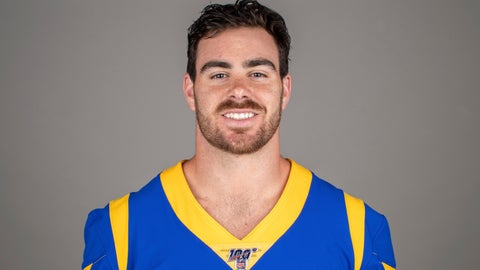 <p>               FILE - This is a 2019 photo showing Tyler Higbee of the Los Angeles Rams NFL football team.  Tight end Tyler Higbee has agreed to a four-year contract extension with the Los Angeles Rams. The Rams announced the deal Thursday, Sept. 5, 2019. (AP Photo/File)             </p>