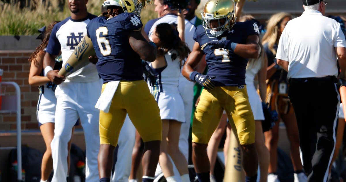 Winding path firms up for Notre Dame RB Avery Davis | FOX Sports