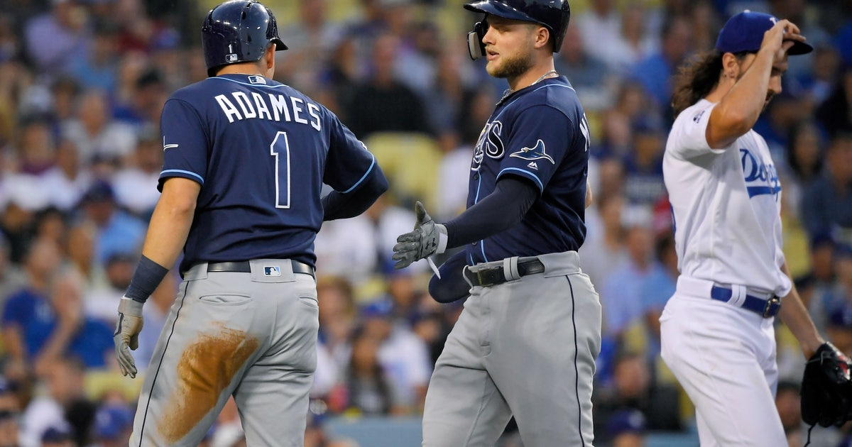 Meadows homers in 11th, Rays rally past Dodgers 8-7 | FOX Sports