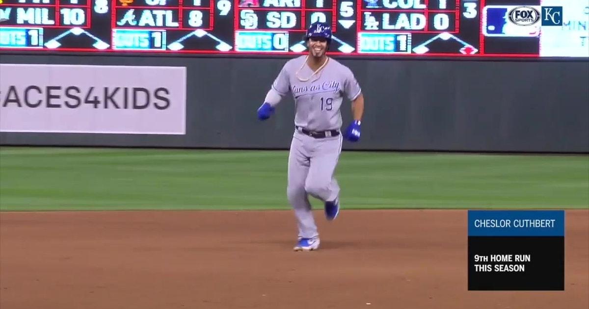 WATCH: O'Hearn, Cuthbert homer in Royals' win over Twins