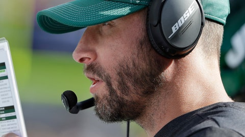 <p>               New York Jets head coach Adam Gase watches from the sideline in the second half of an NFL football game against the New England Patriots, Sunday, Sept. 22, 2019, in Foxborough, Mass. (AP Photo/Steven Senne)             </p>