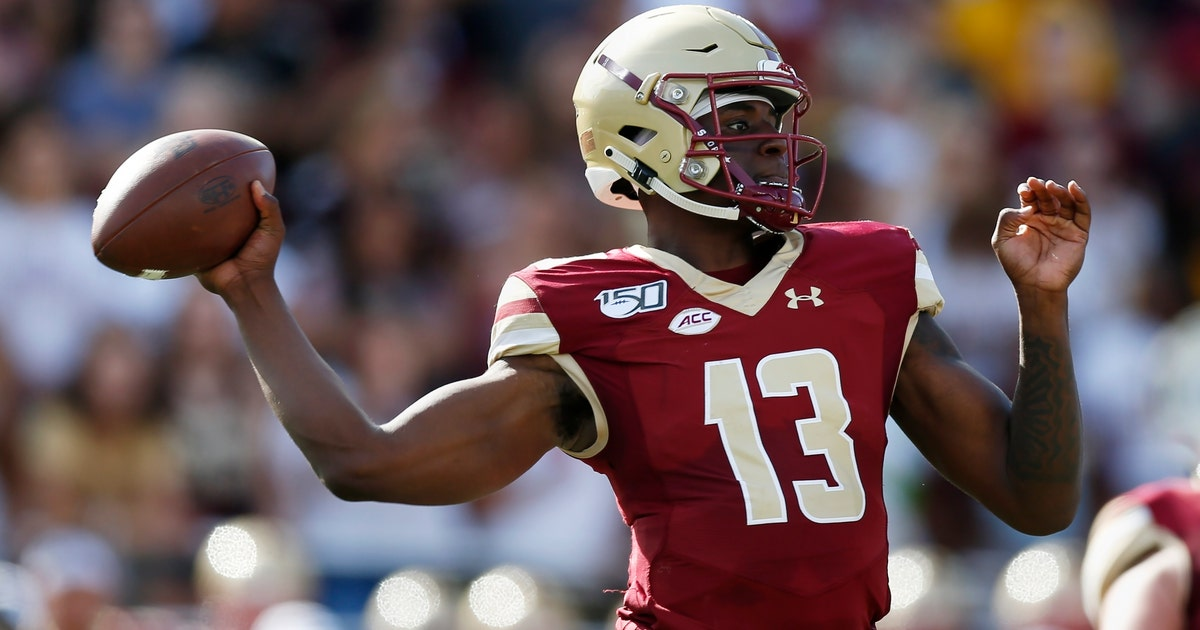 BC QB Anthony Brown emerging as a leader for Eagles | FOX Sports