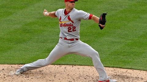 <p>               St. Louis Cardinals starting pitcher Jack Flaherty delivers during the fourth inning of a baseball game against the Pittsburgh Pirates in Pittsburgh, Sunday, Sept. 8, 2019. (AP Photo/Gene J. Puskar)             </p>