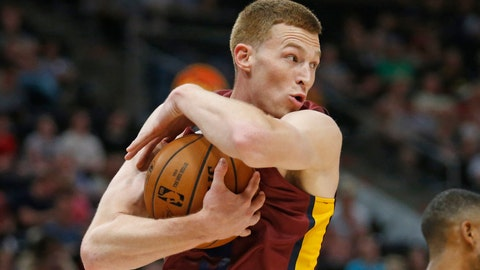 <p>               FILE - In this July 2, 2019, file photo, Cleveland Cavaliers forward Dylan Windler pulls down a rebound during the first half of an NBA Summer League basketball game against the Utah Jazz in Salt Lake City. Windler, who was selected by Cleveland in the first round of this year's NBA draft, could miss six weeks with an injured left leg. The team says he experienced discomfort in his leg following some recent workouts. Adding that imaging tests revealed a tibial stress reaction, which is a precursor to a fracture. (AP Photo/Rick Bowmer, File)             </p>