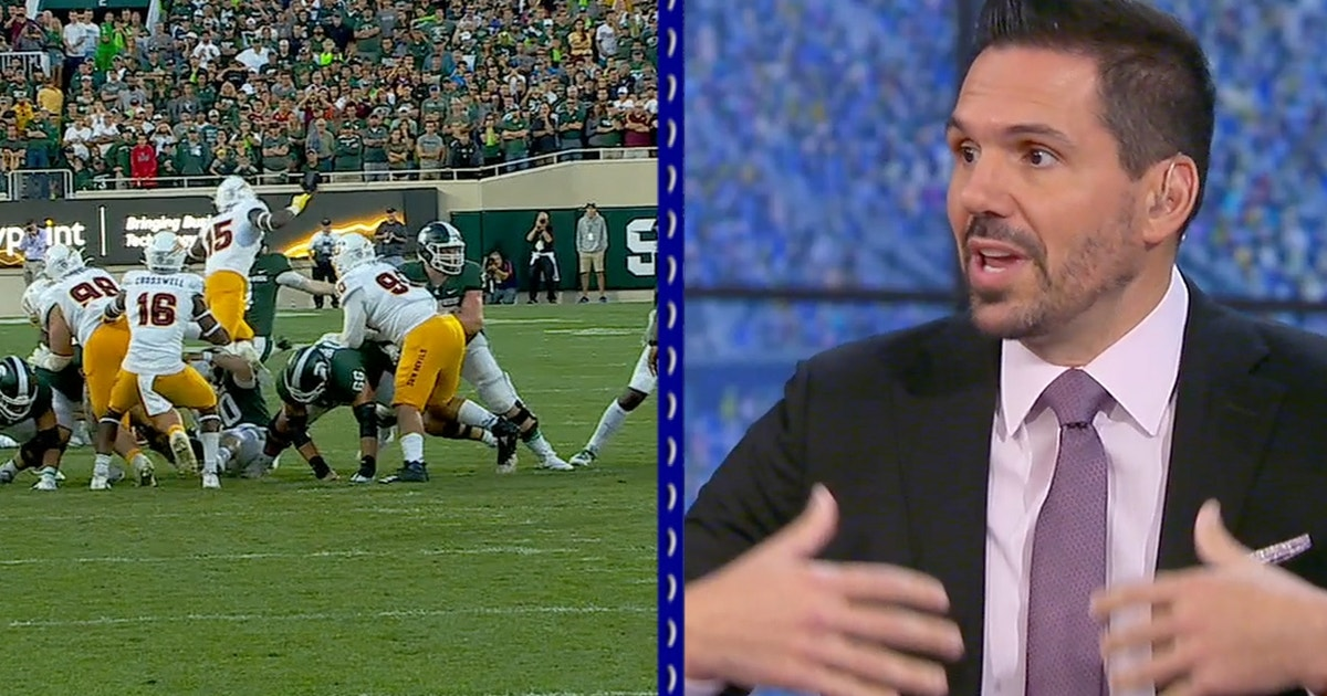 Missed call denies Michigan State another shot at game-tying FG, rules expert Dean Blandino says