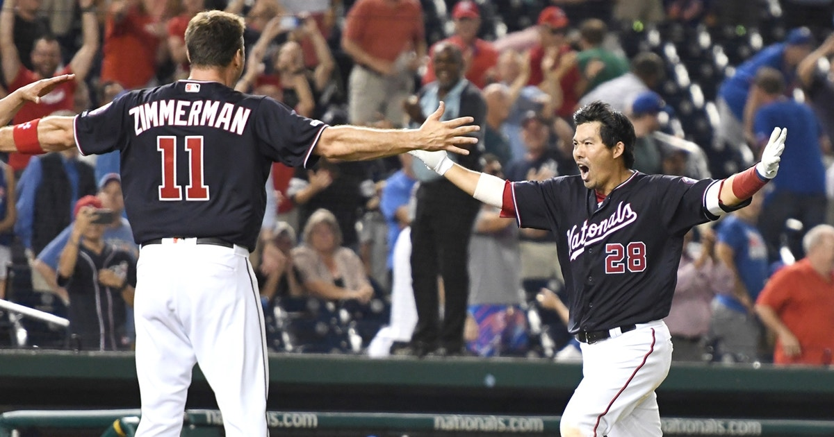 MLB Whip Crew discusses the Nationals improbable come from behind win over the Mets
