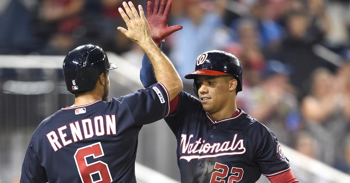 Anthony Rendon, Juan Soto jockey for Nationals HR lead, as both go yard in win
