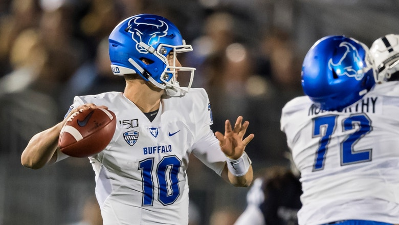 Buffalo takes halftime lead over No. 15 Penn State on 6-yard TD pass