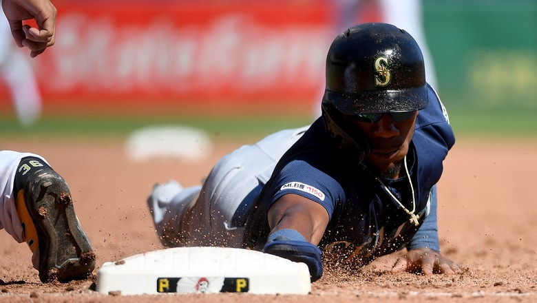 Mariners one up the Pirates in extra innings