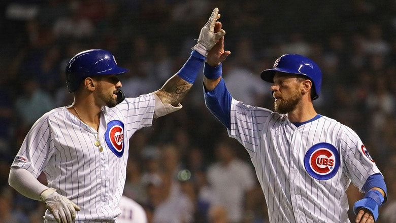 Castellanos drills three-run homer in Cubs win over Mariners