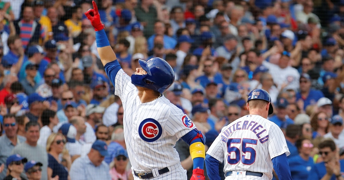 Willson Contreras clubs pair of home runs in Cubs' 17-8 rout of Pirates