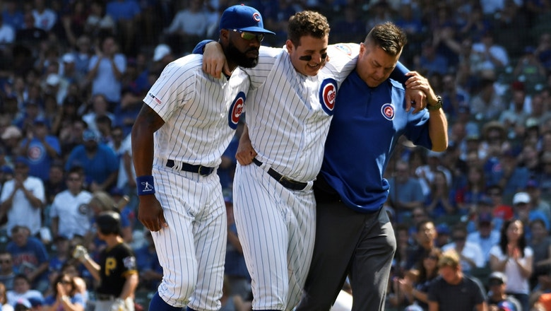 MLB Whipround: Anthony Rizzo's injury and its effect on the Cubs' playoff chances