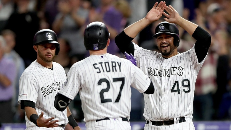 Trevor Story helps Rockies push Mets further down the wild card standings.