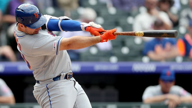 Pete Alonso helps Mets come from behind for victory against Rockies
