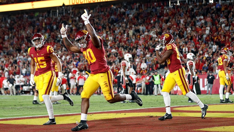 USC upsets No. 10 Utah behind third-string QB Matt Fink's huge night