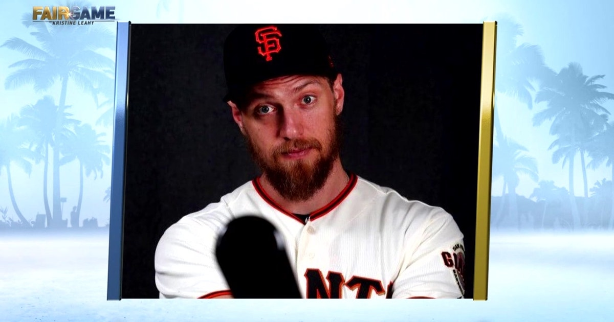 """Hunter Pence Was Featured on """"Fuller House"""" with Jodie Sweetin at Dodgers-Giants Game"""