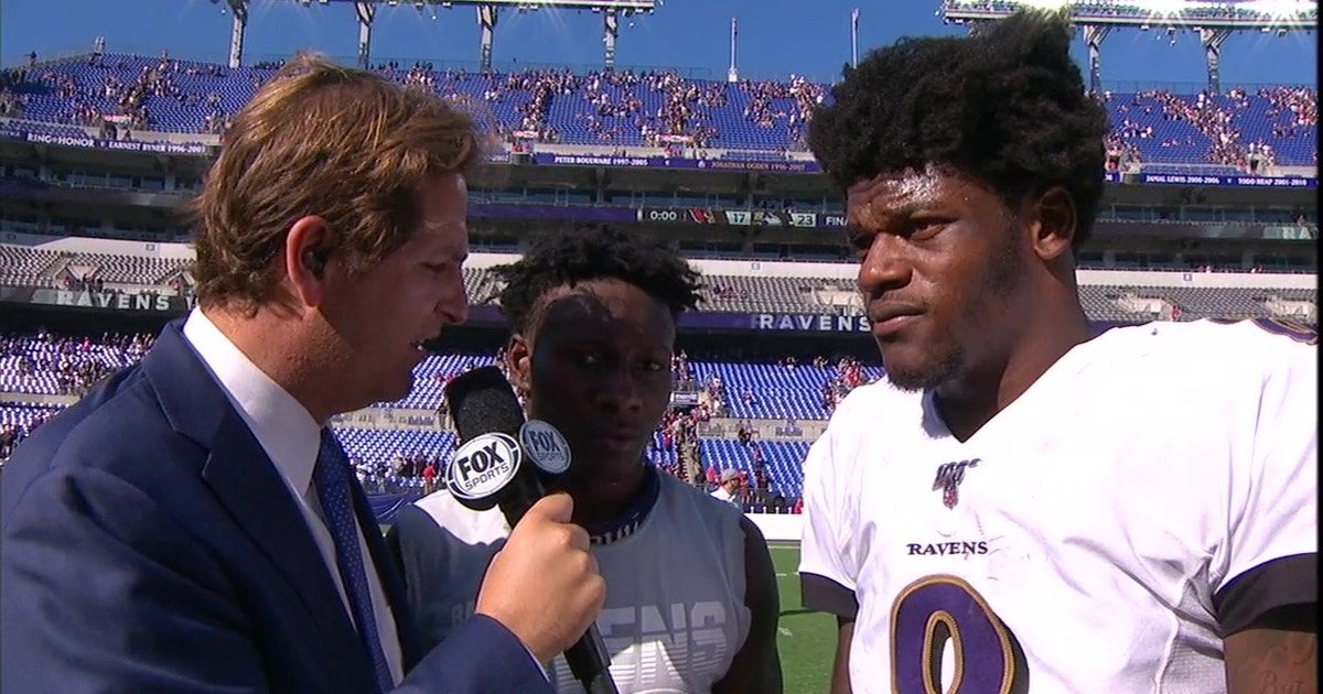 "Ravens Lamar Jackson, ""Hollywood Brown"" talk about their emerging chemistry"