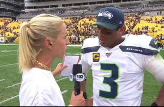Russell Wilson, Seahawks fight through rough first half in Pittsburgh