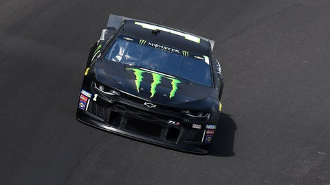 INDIANAPOLIS, IN - SEPTEMBER 07: Kurt Busch (1) Chip Ganassi Racing (CGR) Chevrolet Camaro ZL1 drives through turn one during practice for the Monster Energy NASCAR Cup Series Big Machine Vodka 400 at the Brickyard on September 7, 2019, at the Indianapolis Motor Speedway in Indianapolis, Indiana. (Photo by Michael Allio/Icon Sportswire via Getty Images)