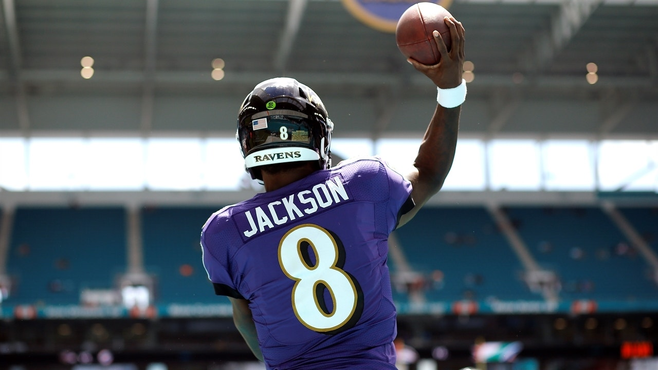 check out e2827 70d2f Shannon Sharpe: The Ravens' stability sets Lamar Jackson up for a better  career than Kyler Murray