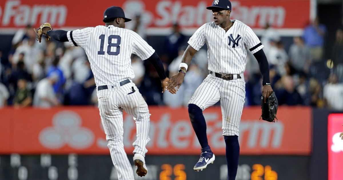 Yankees blank Angels behind strong 4th inning