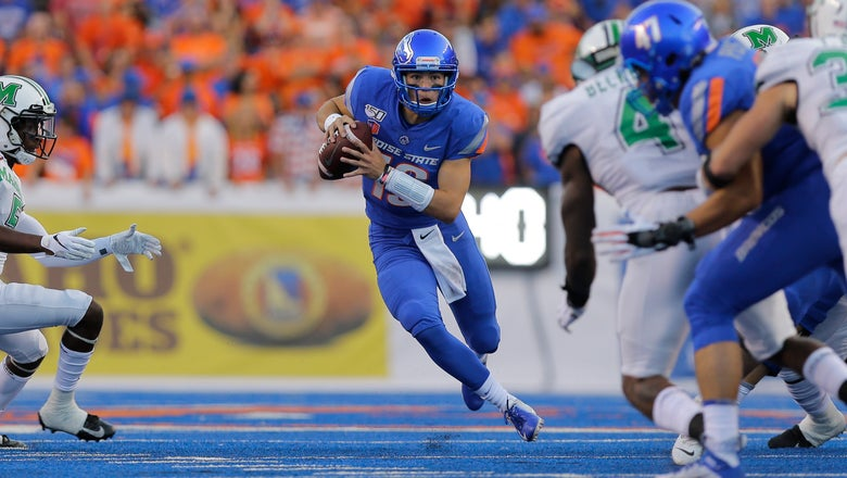 Bachmeier helps No. 24 Boise State beat Marshall 14-7