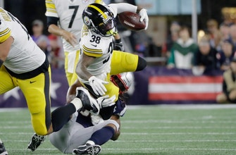 Steelers struggle without Antonio Brown, Le'Veon Bell