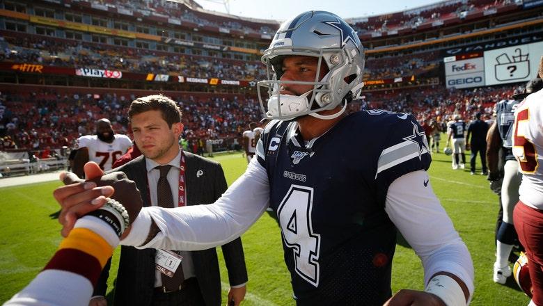 Prescott, sizzling Cowboys huge favorites vs dismal Dolphins