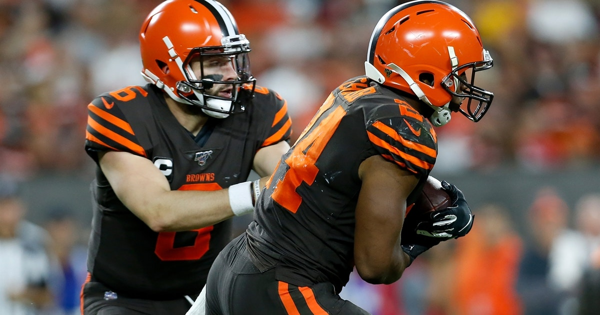 Cris Carter details how the Browns run game could be the path to victory over the Ravens