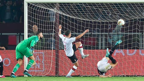 <p>               Torino's Andrea Belotti, right,  scores the goal during the Italian Serie A soccer match between Torino FC and AC Milan at the Olimpico Grande Torino stadium in Turin, Italy, Thursday, Sept. 26 2019. (Alessandro Di Marco/ANSA via AP)             </p>