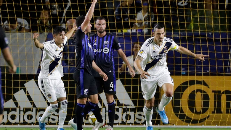 LA Galaxy secure 2-1 victory over Montreal Impact