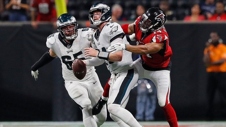 Nick Wright explains why the Eagles injuries were a bigger concern than their loss to the Falcons
