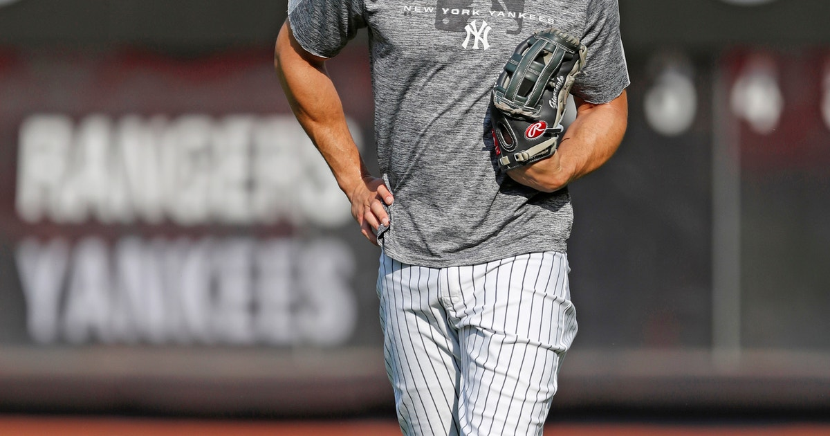 Stanton eyes return to Yankees, hits in simulated game | FOX Sports