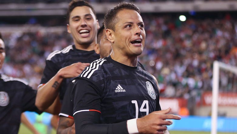 Chicharito's header gives Mexico 1-0 lead over USMNT   2019 International Friendly