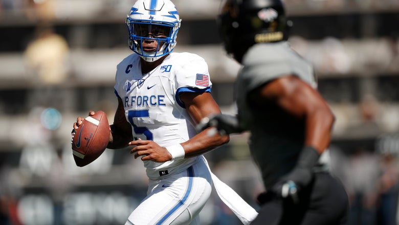Remsberg scores on 1st play of OT, Air Force beats Colorado