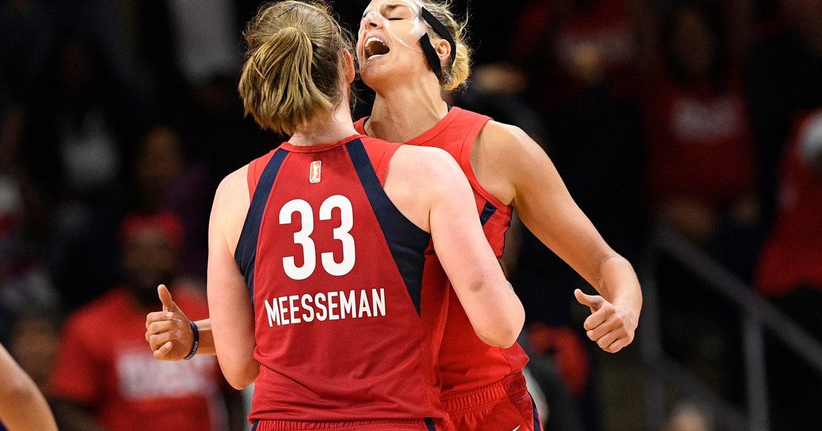 Meesseman ties career high, Mystics beat Aces, take 2-0 lead   FOX Sports