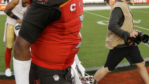 <p>               Tampa Bay Buccaneers quarterback Jameis Winston walks off the field after the second half an NFL football game against the San Francisco 49ers, Sunday, Sept. 8, 2019, in Tampa, Fla. The San Francisco 49ers won 31-17. (AP Photo/Chris O'Meara)             </p>