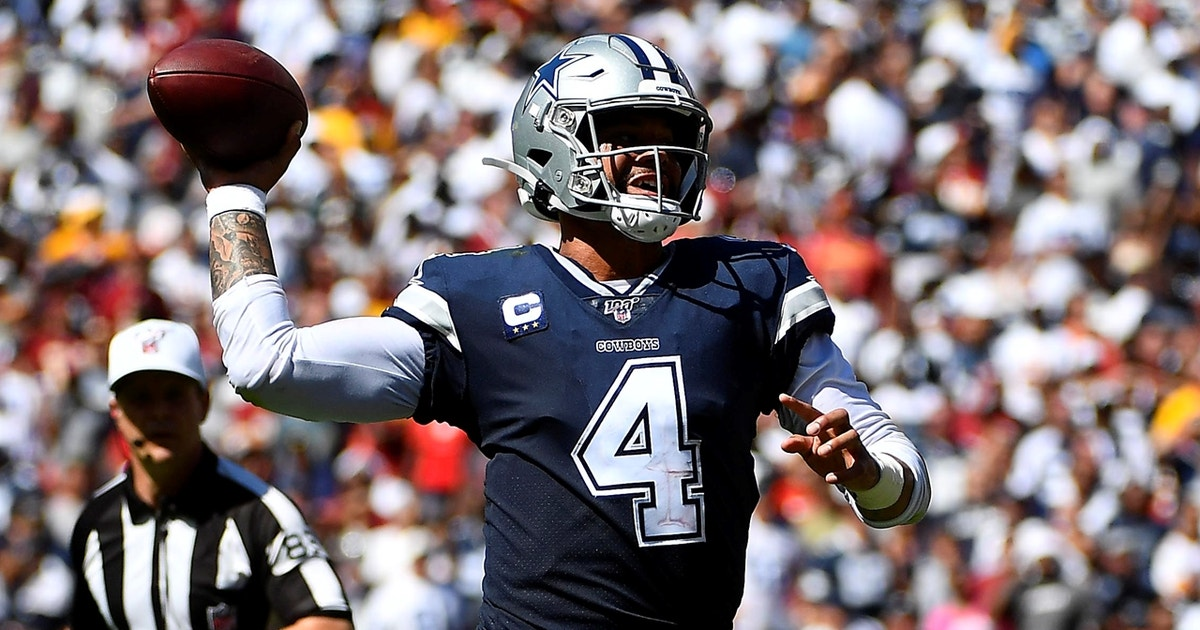 Colin Cowherd: Trust your eyes with Dak Prescott, it's time to stop doubting him