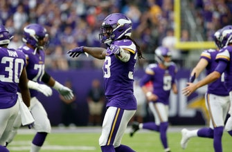 NFL rushing leader Cook leads Vikes romp past Raiders 34-14