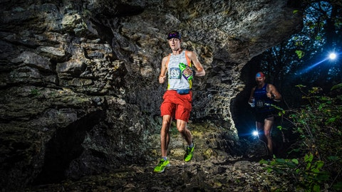 <p>               In this Sept. 28, 2019 photo provided by Mile 90 Photography shows runner Thomas Stanley, left, near the start of the FlatRock 50K on Saturday, Sept. 28, 2019 at the Elk City State Park, which is about 150 miles southwest of Kansas City, Missouri. Stanley was killed by lightning as he was about to finish the 50 kilometer (31.07 mile) race. Race organizers said in a Facebook post that Stanley was included as a finisher in the final results because, although he didn't cross the finish line, he completed the full distance. The results show he came in 11th out of 104 competitors. (Mile 90 Photography via AP)             </p>