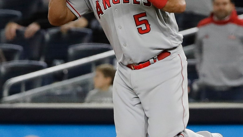 Yankees lose to Angels 3-2, miss chance to clinch AL East