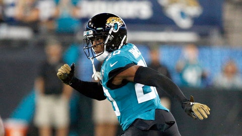 <p>               FILE - In this Thursday, Sept. 19, 2019, file photo, Jacksonville Jaguars cornerback Jalen Ramsey covers a Tennessee Titans player during the first half of an NFL football game in Jacksonville, Fla. The Jaguars have no idea what's next for disgruntled cornerback Jalen Ramsey. If the past is any indication, it's sure to include something out of the ordinary.(AP Photo/Stephen B. Morton, File)             </p>