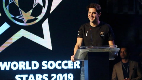 <p>               FILE - In this Thursday, Jan. 10, 2019 file photo, Brazilian soccer player Ricardo Kaka smiles during a ceremony in Karachi, Pakistan. Kaka is encouraging compatriot Neymar stay at Paris Saint-Germain after a failed attempt to return to Barcelona. The world's most expensive player was jeered on his return to the PSG side last weekend after sitting out the four league games as he pushed for a move back to Barcelona during the summer transfer window. (AP Photo/Fareed Khan, file)             </p>