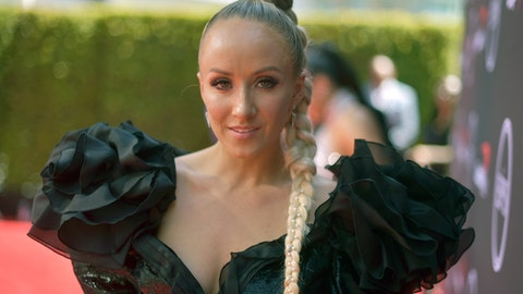 <p>               FILE - In this July 10, 2019, file photo, Nastia Liukin arrives at the ESPY Awards in Los Angeles. Liukin is part of the 2019 U.S. Olympic and Paralympic Hall of Fame class that will be inducted later this year. (Photo by Richard Shotwell/Invision/AP, File)             </p>