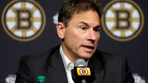 <p>               FILE - In this May 10, 2018, file photo, Boston Bruins head coach Bruce Cassidy speaks to reporters during a news conference in Boston. The Boston Bruins have signed coach Bruce Cassidy to a multiyear contract extension, rewarding him for the team's trip to the Stanley Cup Final in just his second full season on the bench. General manager Don Sweeney announced the extension Wednesday, Sept. 11, 2019, a day before training camp begins. (AP Photo/Steven Senne, File)             </p>