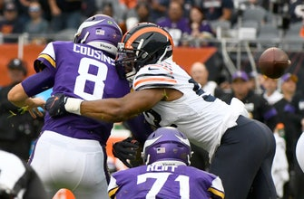 Cousins, Vikings shut down by banged-up Bears