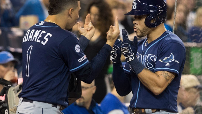 Rays beat Jays 6-2, back in playoffs for 1st time since 2013