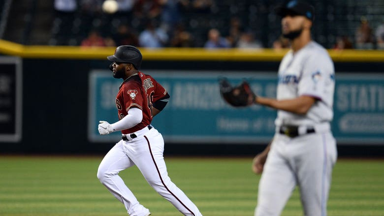 Marlins come up short to Diamondbacks in series finale