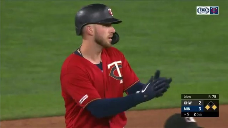 WATCH: Garver hits go-ahead RBI double in Twins' win