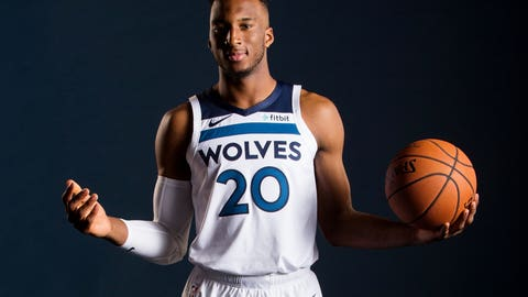 Karl-Anthony Towns, Wolves center
